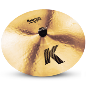 K Zildjian DARK Thin 미디움 크래쉬